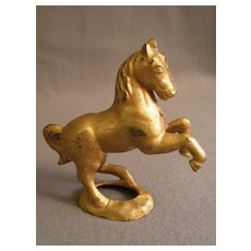 Cast Iron Prancing/Rearing Horse Still Bank