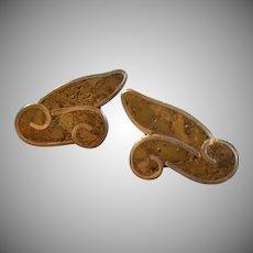 Bernice Goodspeed Sterling Silver & Inlaid Crushed Gemstone Screw-Back Earrings