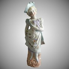 Victorian-Style Bisque Figurine - Lovely Lady of the Period