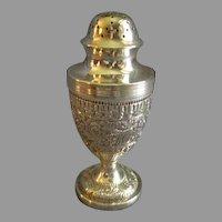 Charles Stuart Harris English Georgian Style Sterling Silver Pepper Pot - Circa 1882