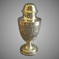 Charles Stuart Harris English Georgian Style Sterling Silver Pepper Pot - Circa 1882