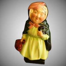 "Royal Doulton Bone China ""Sairey Gamp"" Figurine - Charles  Dickens"