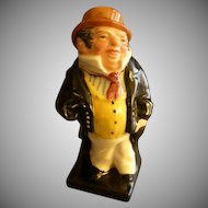 "Royal Doulton Bone China ""Captain Cuttle"" Figurine - Charles  Dickens"