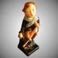 "Royal Doulton Bone China ""Tiny Tim"" Figurine - Charles  Dickens"