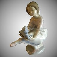 "Lladro ""Best Friend"" Porcelain Sculpture #07620"