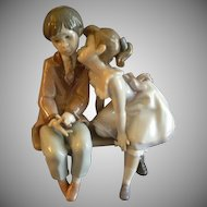 "Lladro ""Ten & Growing"" Porcelain Sculpture #07635"