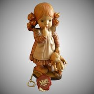 "Anri of Italy ""Bedtime""Limited Carving 1112/4000 by Sarah Kay"