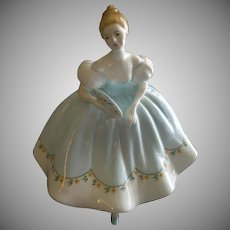 """Royal Doulton """"First Dance"""" Figurine HN 2803 by Peggy Davies"""