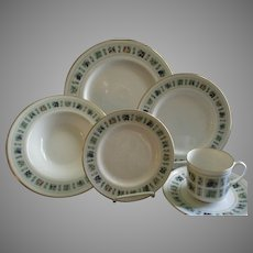 """24 Pc. Royal Doulton """"Tapestry"""" Pattern Dinner-ware Service"""