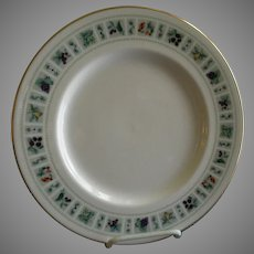 "Set of 4 Royal Doulton ""Tapestry"" Pattern Dinner Plates"
