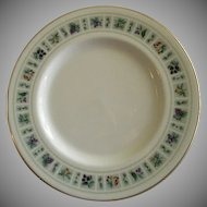 "Set of 4 Royal Doulton ""Tapestry"" Pattern Salad Plates"