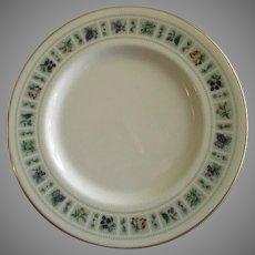 "Set of 4 Royal Doulton ""Tapestry"" Pattern Salad Plates"