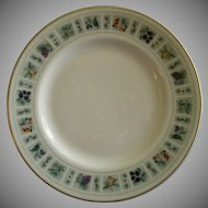 "Set of 4 Royal Doulton ""Tapestry"" Pattern B&B Dessert Plates"