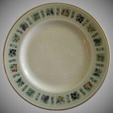 "Set of 4 Royal Doulton ""Tapestry"" Pattern B&B Dessert Plates"