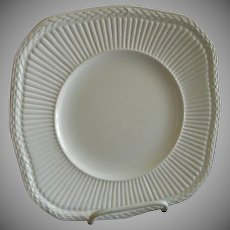 Josiah Wedgwood & Sons 'Edme' Pattern Set of 4 Square Luncheon Plates