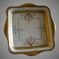 "Pickard Studio Hand Painted ""Russian Flowers"" Series, Candy Dish"