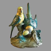Stangl Pottery 'Double Parakeets' Bird Figurine