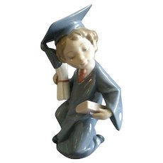 "Lladro ""Going Forth"" Porcelain Sculpture #6772"