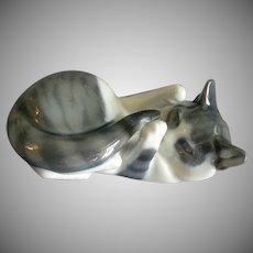 "Royal Copenhagen ""Playful Kitten"" Figurine #727"