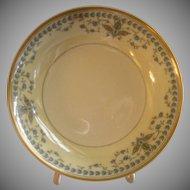 "Haviland & Co. Limoges Arts & Crafts ""English Oatmeal"" Pattern - Set of 6 Fruit/Sauce Bowls"