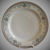"Haviland & Co. Limoges Arts & Crafts ""English Oatmeal"" Pattern - Set of 6 Salad/Dessert Plates"