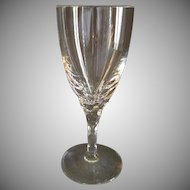 Orrefors Cut Crystal 'Carina' Pattern Wine Glasses - Set of 4