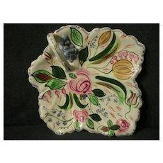 "Blue Ridge ""Verna"" Maple Leaf Cake Tray"