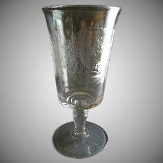 """EAPG -  """"Psyche & Cupid""""  Pedestal Celery Vase"""