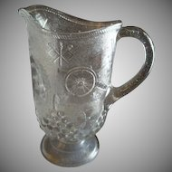"EAPG -  ""Admiral Dewey"" or ""Spanish American War"" Pattern Water Pitcher"
