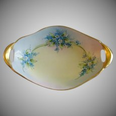 Noritake Nippon Hand Painted FMN Pattern Candy/Nut/Relish Dish - Artist Signed