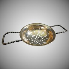 F. M. Whiting & Co. Sterling Silver Tea Strainer