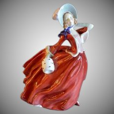 "Royal Doulton ""Autumn Breezes"" Figure HN 1934 - Rd No 835666 by Leslie Harradine"