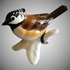 Goebel Crested Titmouse Bird Figurine