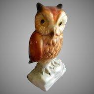 Goebel White Snow Owl Bird Figurine Brys Antiques Ruby