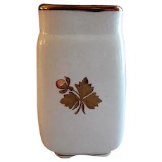 Alfred Meakin Ironstone Tea Leaf Square Toothbrush Holder