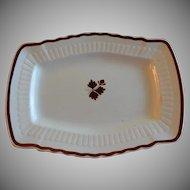 Mellor, Taylor & Co. Ironstone Tea Leaf Serving Platter