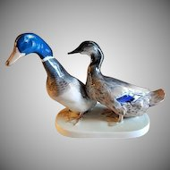 "Rosenthal Porcelain ""Mallard Ducks"" Figurine by W. Zugel"