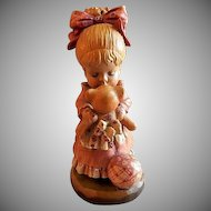 "Anri of Italy ""Wake Up Kiss"" Limited Carving 290/4000 by Sarah Kay"
