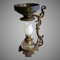 Vapo-Cresolene Vaporizer Kerosene Oil Lamp