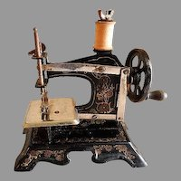 F W Muller Company Model No 2 Toy Sewing Machine