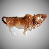 "Czechoslovakia ""Buffalo"" Figural Cream Pitcher"