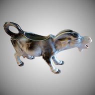 "Germany ""Braying Nanny Goat"" Figural Cream Pitcher"