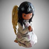 """DeGrazia - Goebel Nativity """"Praying Angel"""" Figurine"""