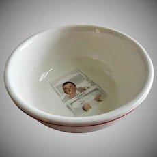 "Dionne Quintuplets ""Marie"" Cereal Bowl"