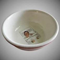"Dionne Quintuplets ""Marie"" Cereal Bowl"