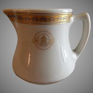 "Shenango China - Baltimore & Ohio Railroad ""Capitol"" Pattern Cream Pitcher"