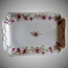 """GDA Limoges - New York Central Railroad """"Hyde Park"""" Pattern Tray"""