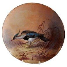 Lazeyras, Rosenfeld & Lehman (L R L) Limoges Bird Game Plate
