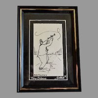 "New Orleans Print of ""Pete Fountain"" by George B Luttrell II"
