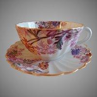 "Set of 4 Copeland Spode ""Chelsea Garden"" Cups & Saucers - Pattern R9781"